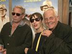 Familientreffen: Rolf Becker mit seinen Kindern Meret und Ben Becker