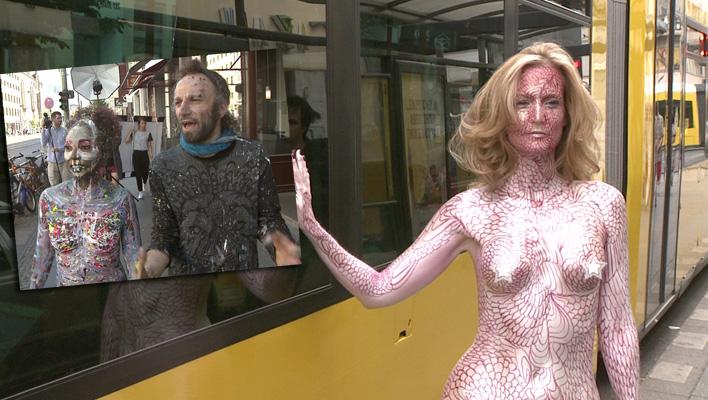 """Bunt und nackt: Bodypainting mit """"BRIGITTE und Johny Dar"""