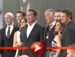"""Bühnenpräsentation von """"Terminator – Genisys"""" in Berlin"""