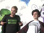 Y-Titty: Darum heißen die YouTuber Flüchtlinge Willkommen
