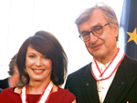 Stars im Roten Rathaus geehrt: Verdienstorden für Iris Berben und Wim Wenders
