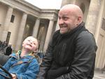 Jürgen Vogel: Trecker-Demo für Kinder mit Down-Syndrom