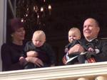 Nationalfeiertag in Monaco: Fürst Albert und Fürstin Charléne zeigen ihre Baby-Zwillinge!