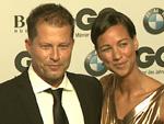 GQ Award 2015: Til Schweiger verliebt mit Freundin Marlene Shirley