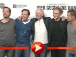 """Wolfgang Petersen stellt sein Projekt """"Vier gegen die Bank"""" in Berlin vor"""