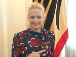"""Bundesverdienstkreuz für Barbara Schöneberger: """"Ich habe mich kleidungsmäßig völlig falsch entschieden"""""""