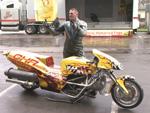 Das (fast) schnellste Motorrad der Welt: In fünf Sekunden auf 500 Sachen!