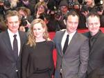 Kreisch-Alarm: Jude Law und Colin Firth begeistern Berlin!