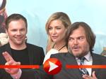 """Kate Hudson und Jack Black posieren bei der """"Kung Fu Panda 3""""-Premiere in Berlin"""