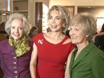 VIPs feiern Ferragamo-Eröffnung: Die ehemalige Begum, Bettina Zimmermann, Julia Malik und Cathy Hummels
