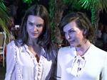 Milla Jovovich und Alessandra Ambrosio: Mit süßen Töchtern auf der Fashion Week!