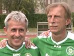 Christoph Daum und Pierre Littbarski: Kämpfen gegen Diabetes!