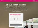 Telekom Miles & More Gewinnspiel