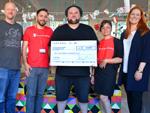 Alex Diehl: Löst sein Spenden-Versprechen ein