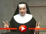 Oliver Pocher im Nonnen-Kostüm
