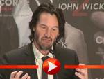 """Keanu Reeves bei der Pressekonferenz zu """"John Wick 2"""" in Berlin"""