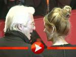 Richard Gere mit seiner Freundin Alejandra Silva auf der Berlinale 2017