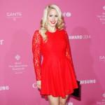 Angelina Heger: Ungeschminkt auf dem roten Teppich