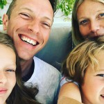 Chris Martin feiert mit Willy Wonka