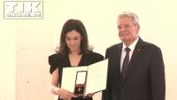 Bundesverdienstkreuz für Sibel Kekilli: Tränen im Schloss Bellevue!