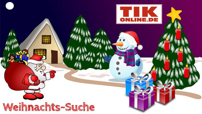 """""""Weihnachts-Suche 2017"""" - Täglich tolle Gewinne bei TIKonline.de"""