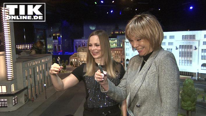 Regina Halmich und Judy Winter in Miniaturwelt verewigt!