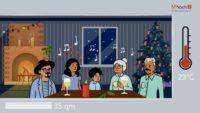 Corona-Weihnachten – So hoch ist das Ansteckungsrisiko an den Feiertagen!