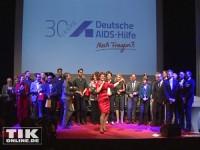 Gruppenblid beim 30. Jubiläum der Deutschen AIDS-Hilfe