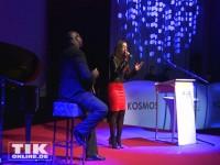 Nadja Benaissa auf der Bühne beim 30. Jubiläum der Deutschen AIDS-Hilfe