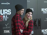 Angelina Heger mit Freund Christoph Ghesquier im Partnerlook