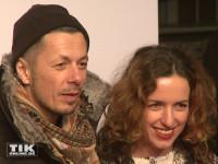 Fanta4-Rapper Michi Beck kam mit seiner Frau Ulrike Fleischer zum 99Fire Film Award