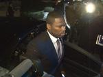Rapper 50 Cent in Berlin: Präsentiert Kino-Drama