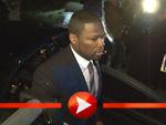 50 Cent alias Curtis Jackson bei seiner Ankunft am Premierenkino in Berlin
