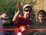 Adam Sandler und Rob Schneider im Interviewmarathon