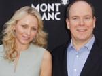 Fürst Albert II und Charlène: Ohne Babybauch in Hollywood