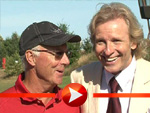 """Franz Beckenbauer und Thomas Gottschalk gemeinsam beim """"Haribo Jetix Golf Turnier"""""""