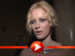 Franziska Knuppe im Interview beim Dreamball 2006