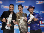 Holiday On Ice: Jana Ina, Giovanni Zarella und Lou Bega bitten aufs Eis