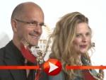 "Christoph-Maria Herbst trifft Diana Amft beim ""Jupiter Award"""