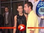 """Kate Beckinsale und Adam Sandler bei der """"Klick"""" Premiere in Berlin"""