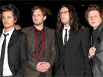 Kings of Leon: Unerkannt in der Londoner U-Bahn
