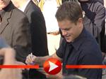 Matt Damon: Der Held der Autogrammjäger