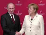 Putin in Hannover: Besuch von Protesten begleitet