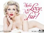 Eva Habermann: Als nackte Marilyn gegen Pelz