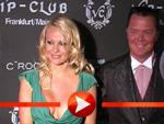 Pamela Anderson zur Eröffnung des VIP-Club in Frankfurt