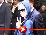 Paris Hilton als Schlumpf in Berlin!