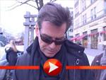 Pierce Brosnan mit Sonnenbrille am Hotel Adlon