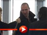 Ralph Fiennes Ankunft in Berlin