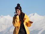 Sarah Engels: Ski-Spaß am Sunny Mountain