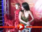 Sila Sahin enthüllt die Wachsfigur von Justin Bieber